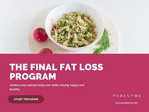 Puresome Final Fat Loss Program