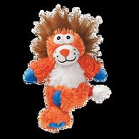 Jouet cross knots lion - taille ML orange - KONG
