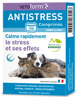 Anti-stress chien chat , 20 cp - VETOFORM