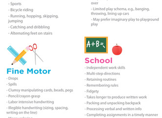 Dyspraxia Infographic