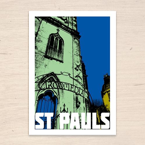 St Pauls Bristol Print