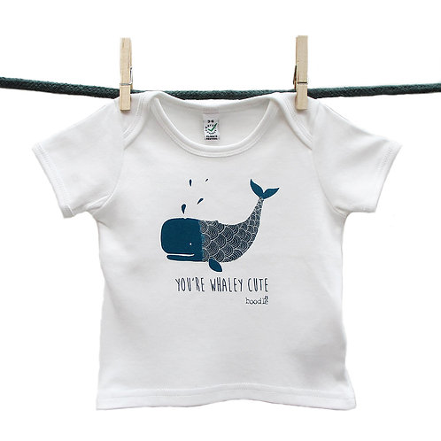 Whale Baby T Shirt