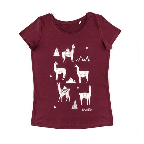 Women's Llama T Shirt