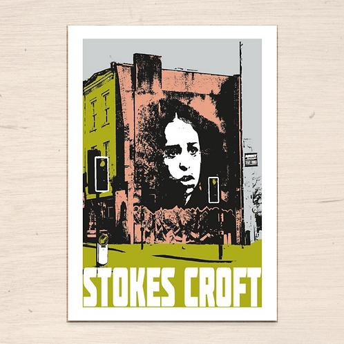 Stokes Croft Bristol Print