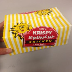 Johnathan's Sandwich House box of Krispy Krunch Chicken