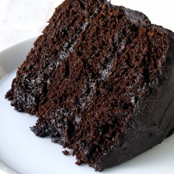 Chocolate Cake at Johnathan's