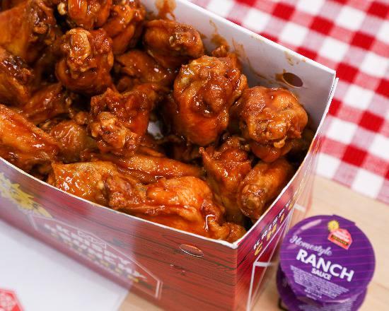 BBQ Boneless wings