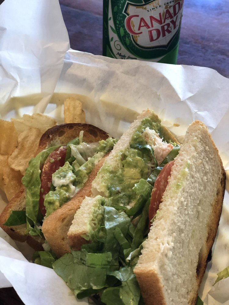 Crab and Avocado Sandwich