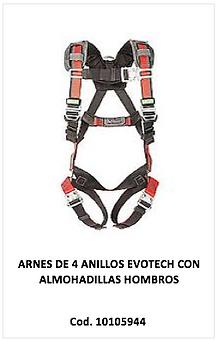 arnes evotech 4 anillos 10105944