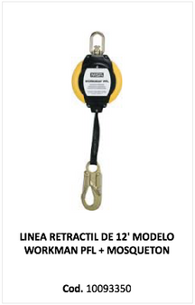 Linea retractil Workman, 10093350