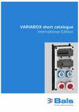 Catalogo variabox Bals
