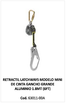 retractil latchways 63011-00A