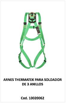 Arnes thermatek para soldador 10020062