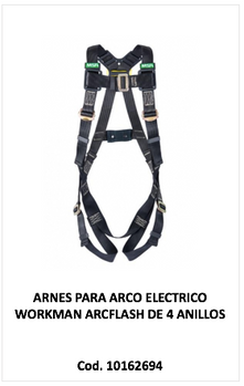 Arnes arco electrico workman arcflash 10162694