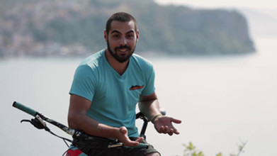 Mountain biking with Jovan   The Macedonian Adventure