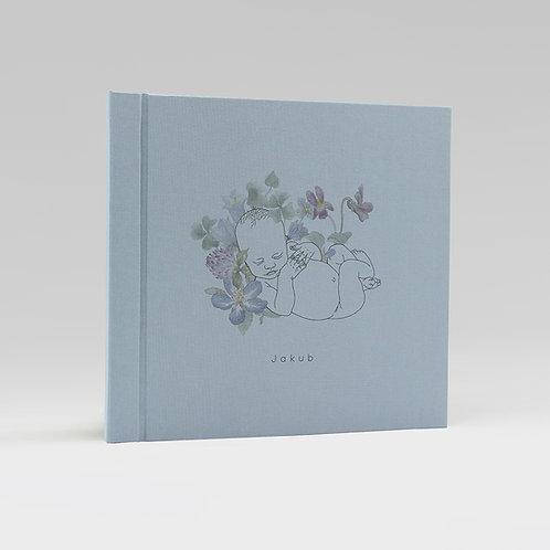 album NIEMOWLĘ z kwiatem koniczyny