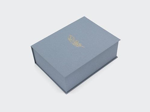 pudełko złote PIÓRO / M, 500 zdjęć