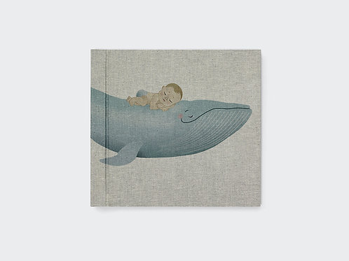 album dziecka WIELORYB chłopiec / S, M, L