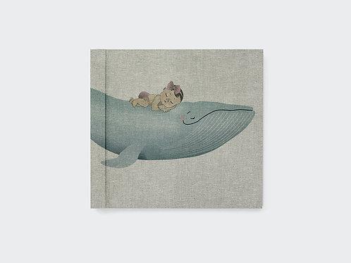 album dziecka WIELORYB dziewczynka / S, M, L