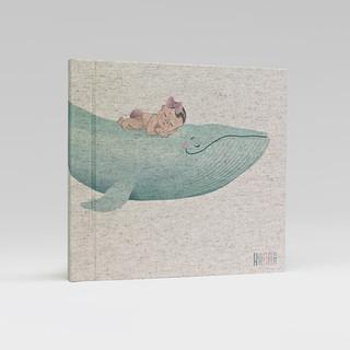 album WIELORYB dziewczynka