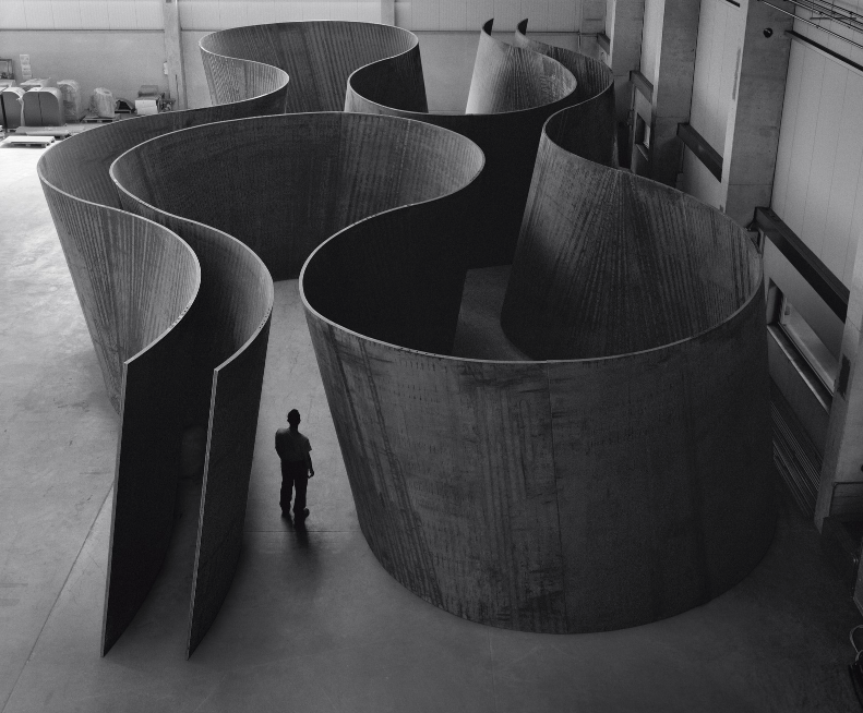 Inside Out by Richard Serra, weatherproof steel, 2013