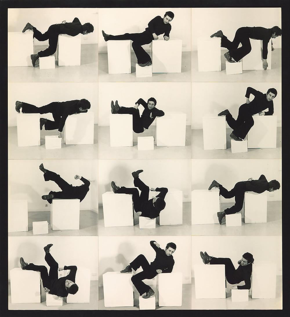 Pose Work for Plinths I 1971 © Bruce McLean