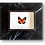 Thumbnail: Cadre PUNO papillon orange