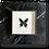 Thumbnail: Cadre RÍO papillon vert fond écru