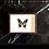 Thumbnail: Cadre PUNO papillon noir et blanc