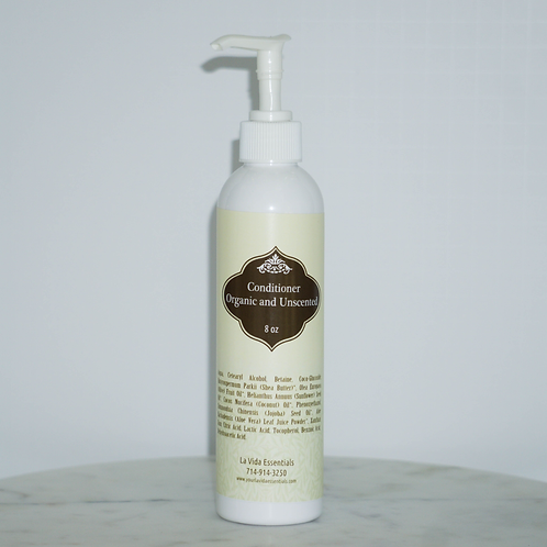 Conditioner-Organic and Unscented