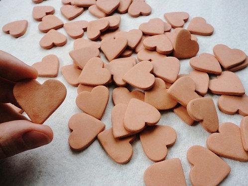 Terra Cotta heart diffuser-single.