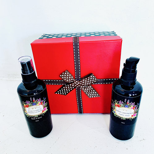 Rose Spray and Lavender Lotion