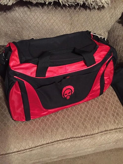 BLACK & RED GYM BAG