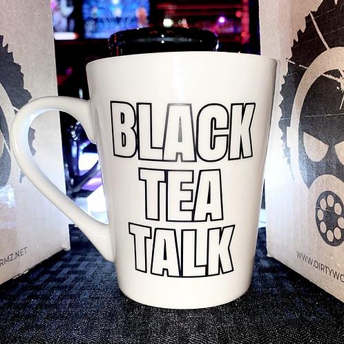 BLACK TEA TALK LOGO 16oz MUG