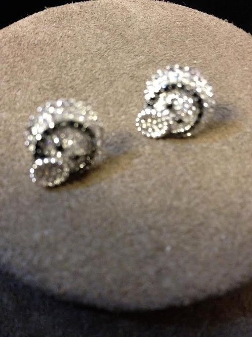 WORM DIAMOND EARRINGS