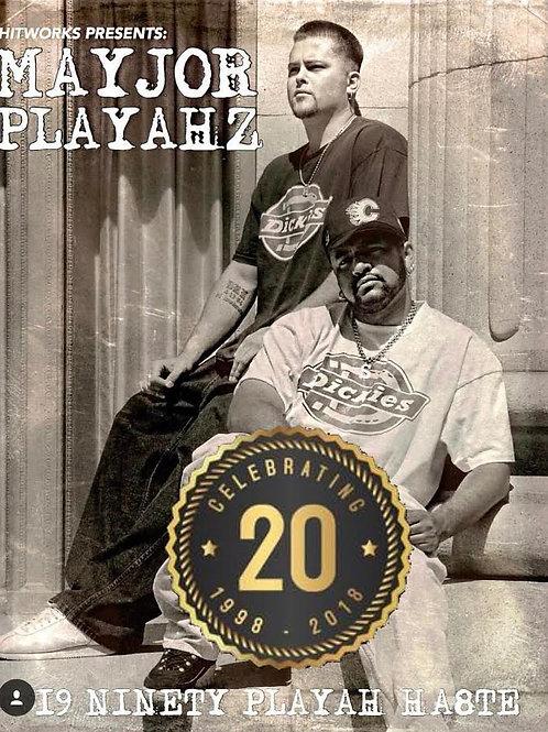 MAYJOR PLAYAHZ - 19 NINETY PLAYAH HA8TE (LP)