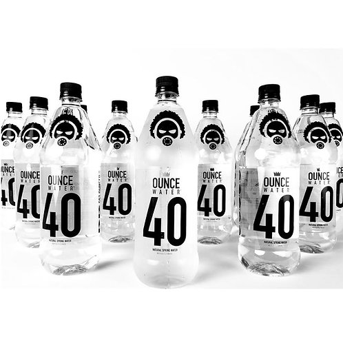 40 OUNCE WATER