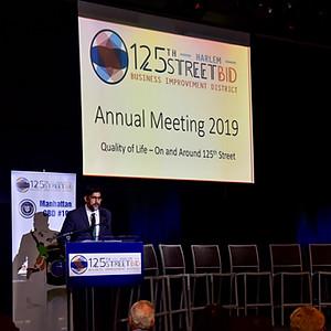 125th BID Annual Meeting