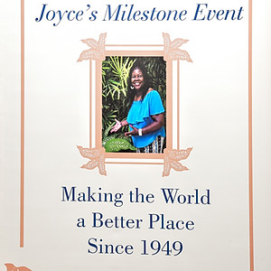 Joyce's  70th