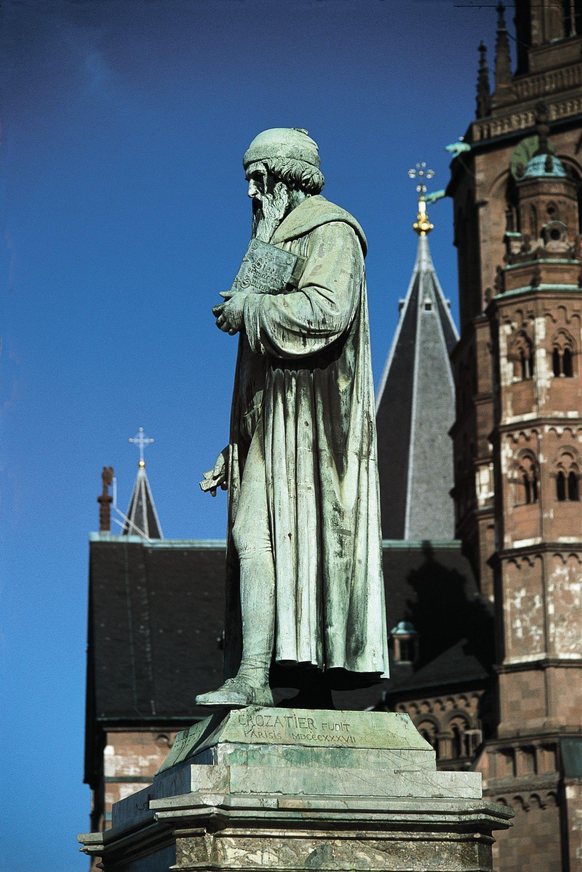Gutenberg in Mainz