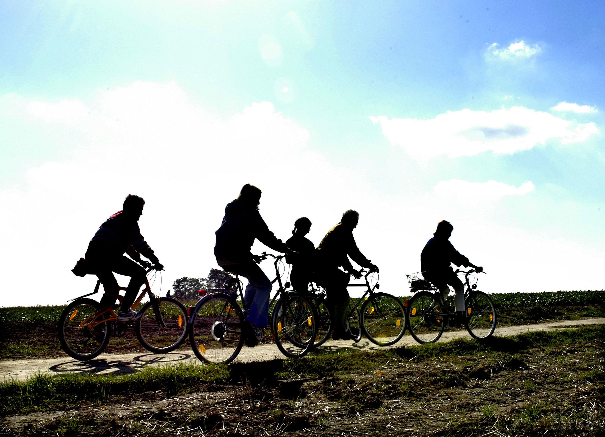 Ausflug mit dem Rad