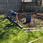 Vegetable Patch Prep, weeding and tilling