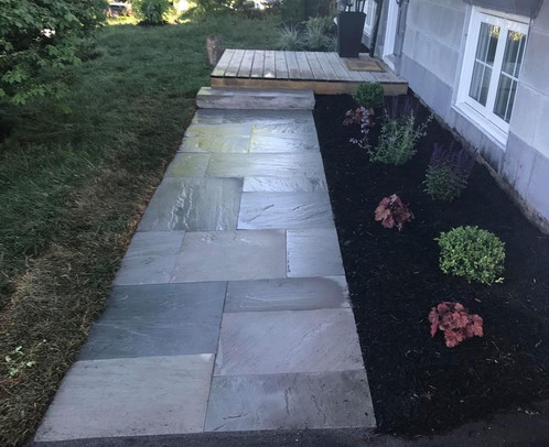 Front Garden Bed & New Walkway5