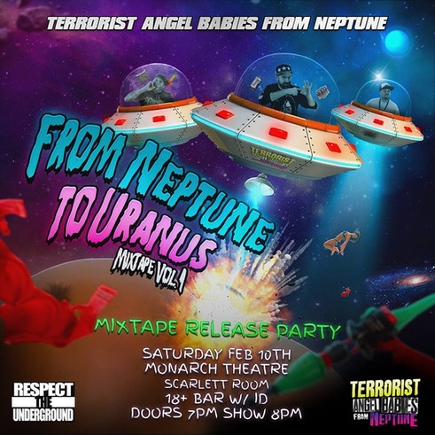 Terrorist Angel Babies from Neptune