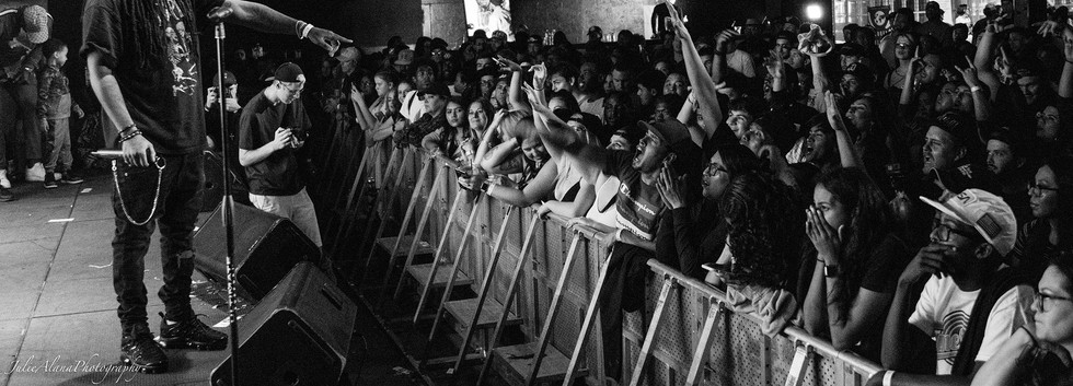Vee Tha Rula Crowd - Arizona Hip Hop Festival