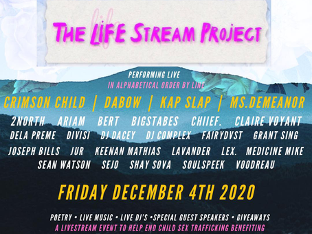 LIFESTREAM PROJECT - A Digital Festival w/ a purpose