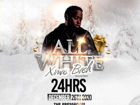 @24hrs LIVE AT ALL WHITE XMAS PARTY @PRESSROOM DEC 26th