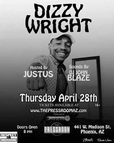 Dizzy Wright | Phoenix | Respect The Underground