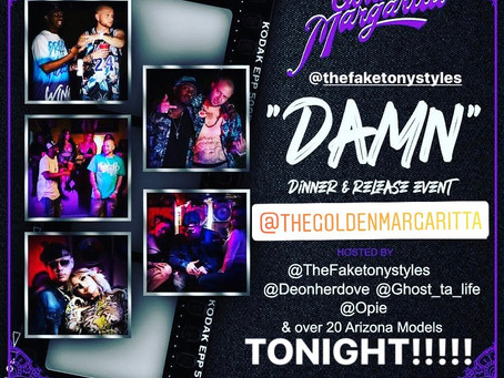 "TONY STYLES to Debut ""DAMN"" Video TONIGHT @11pm (MST)"