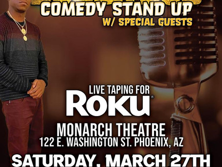 BUBBA DUB Live @Monarch Theatre This SATURDAY for RTU ROKU Worldwide